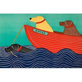 'Aquarel Day Dream' van Lia Porto Canvas