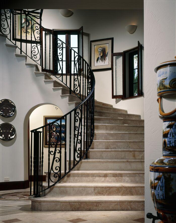 Rustic Entryway and Hallway photo by B. Pila Design Studio