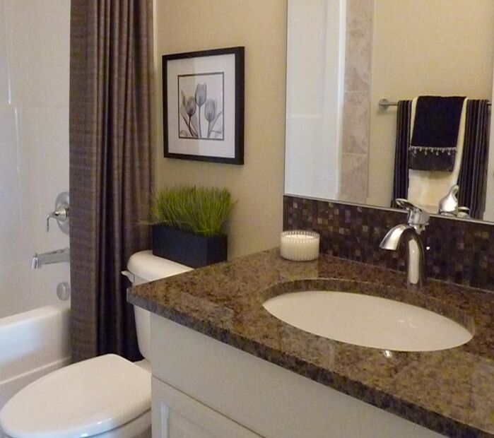 Contemporary Bathroom photo by Willow Tree Interiors