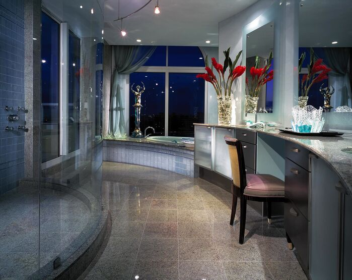 Eclectic Bathroom photo by B. Pila Design Studio