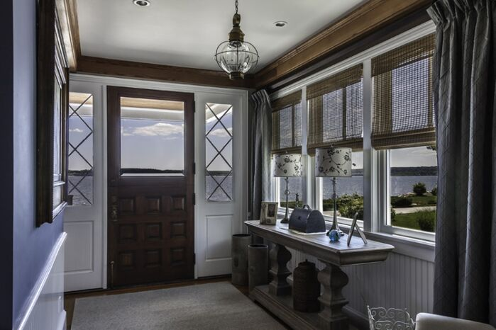 Coastal Entryway and Hallway photo by Interiors by Paul Chaisson