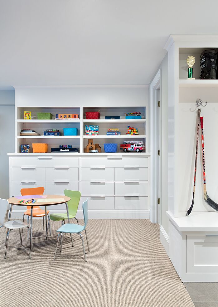 Eclectic Game/Rec Room photo by Clean Design Partners