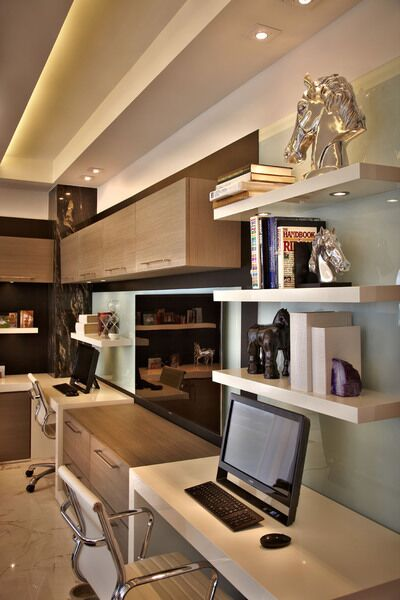 Modern Home Office photo by Pepe Calderin Design