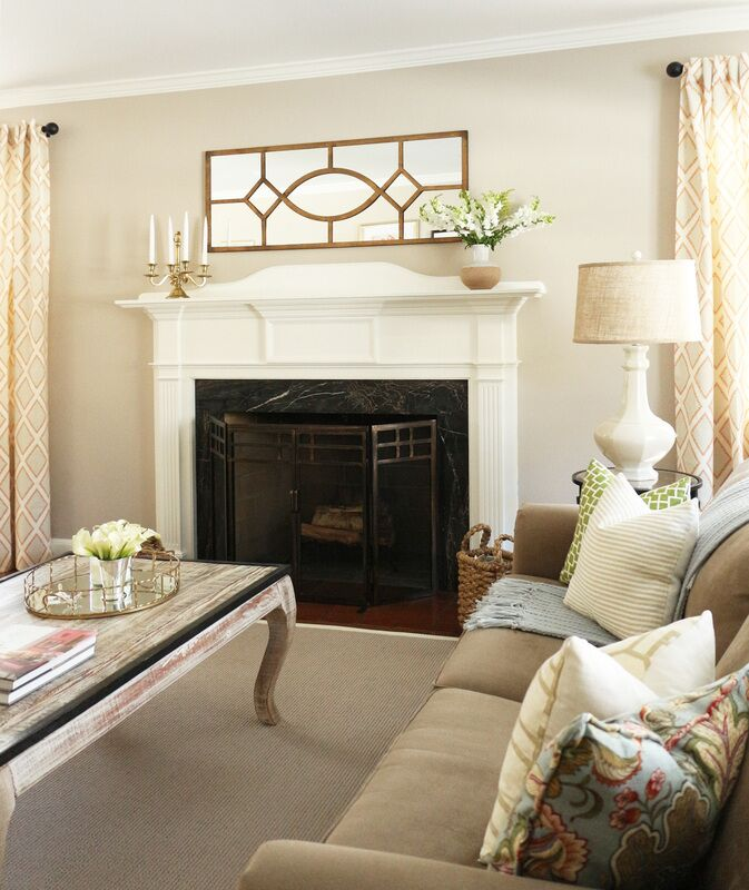 Cottage/Country Living Room photo by Victoria Elizabeth Design