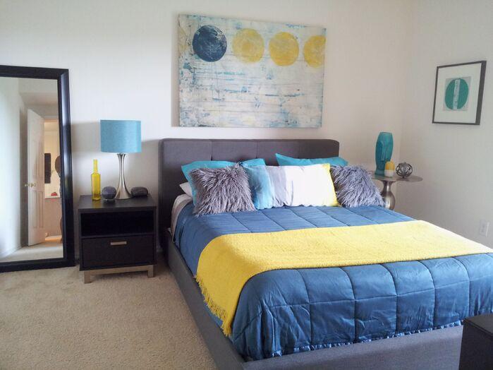 Modern Bedroom photo by Tiffany Eden Design