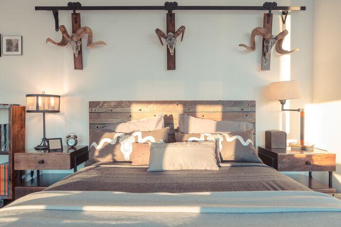 Eclectic Bedroom photo by Marie Burgos Design