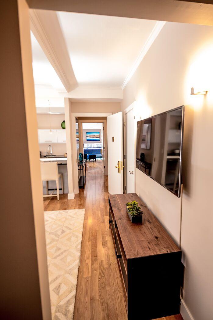 Contemporary Living Room photo by Marie Burgos Design