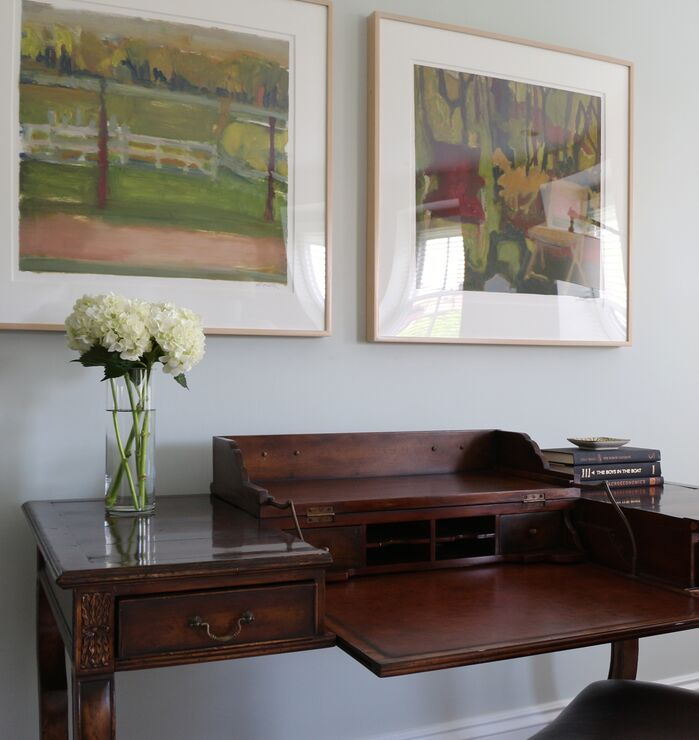 Traditional Home Office photo by Victoria Elizabeth Design