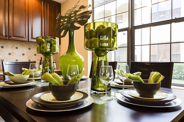 Contemporary Dining Room photo by Florida Furniture Packages