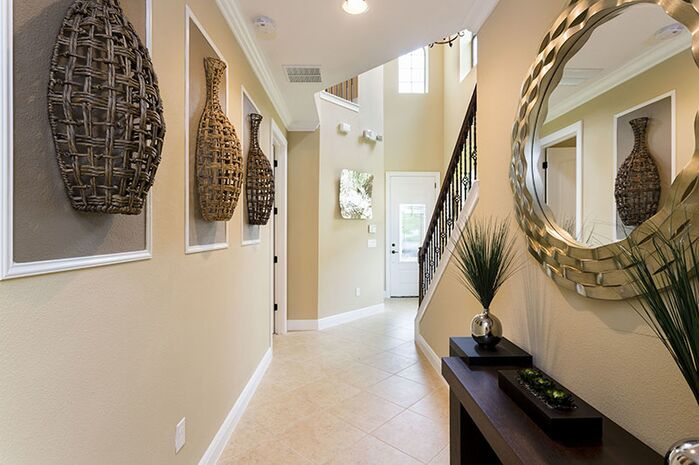 Contemporary Entryway and Hallway photo by Florida Furniture Packages