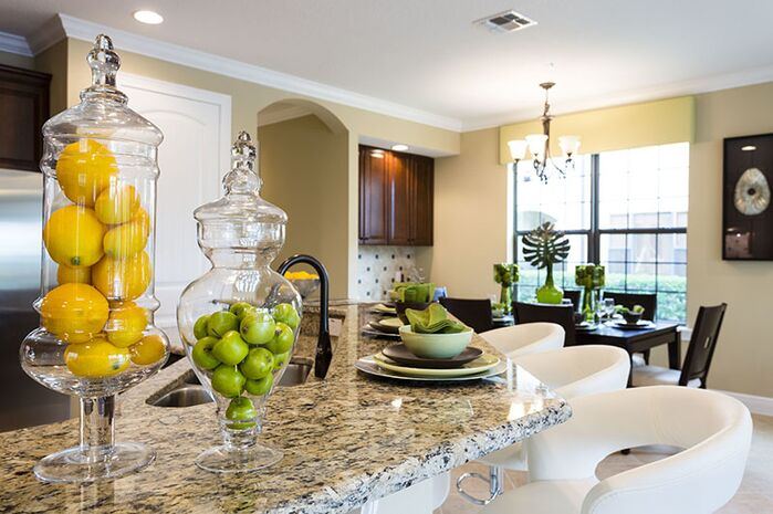 Contemporary Kitchen photo by Florida Furniture Packages