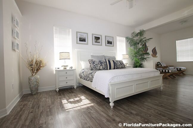 Coastal Bedroom photo by Florida Furniture Packages