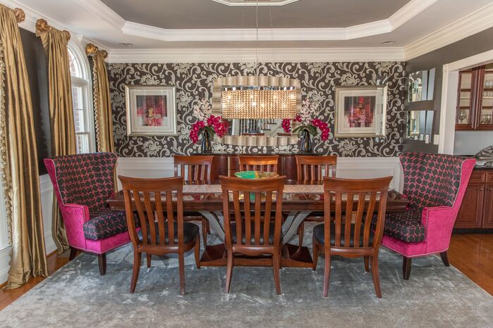 Eclectic Dining Room photo by J & L Interiors