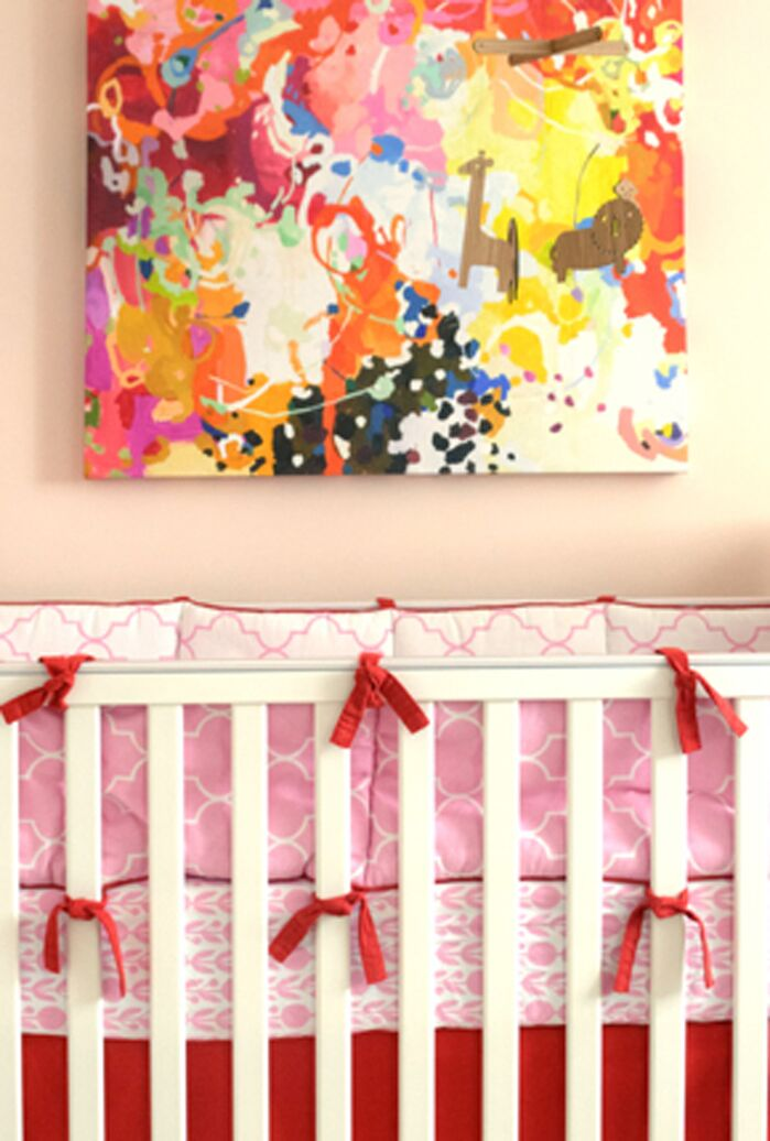 Eclectic Nursery photo by AT Kelly Design