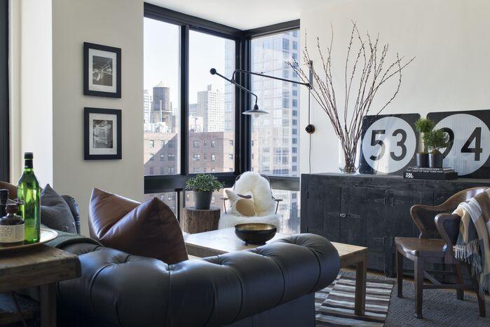 Contemporary Living Room photo by BHDM DESIGN LLC