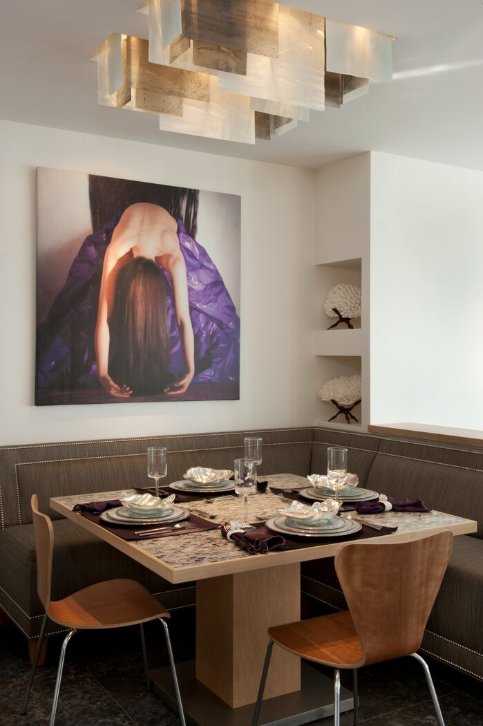 Contemporary Dining Room photo by Tracy Murdock Interior Design