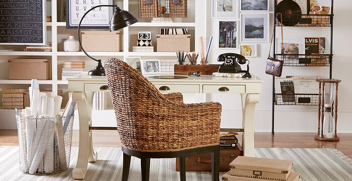 Contemporary Home Office photo by Birch Lane