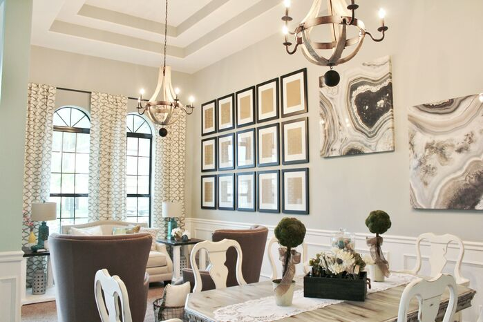 Traditional Dining Room photo by 27 South Home Group