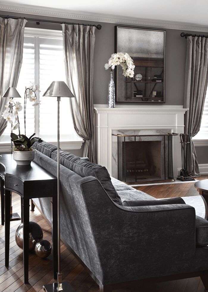 Glam Living Room photo by ANNA DUVAL DESIGNS