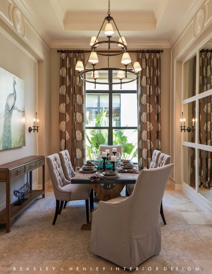 Traditional Dining Room photo by Beasley and Henley Interior Design