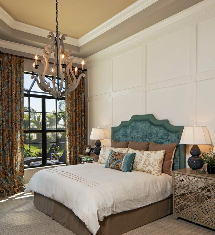 Glam Bedroom photo by Beasley and Henley Interior Design