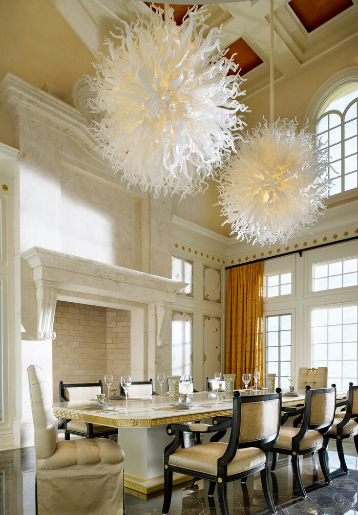 Contemporary Dining Room photo by Beasley and Henley Interior Design