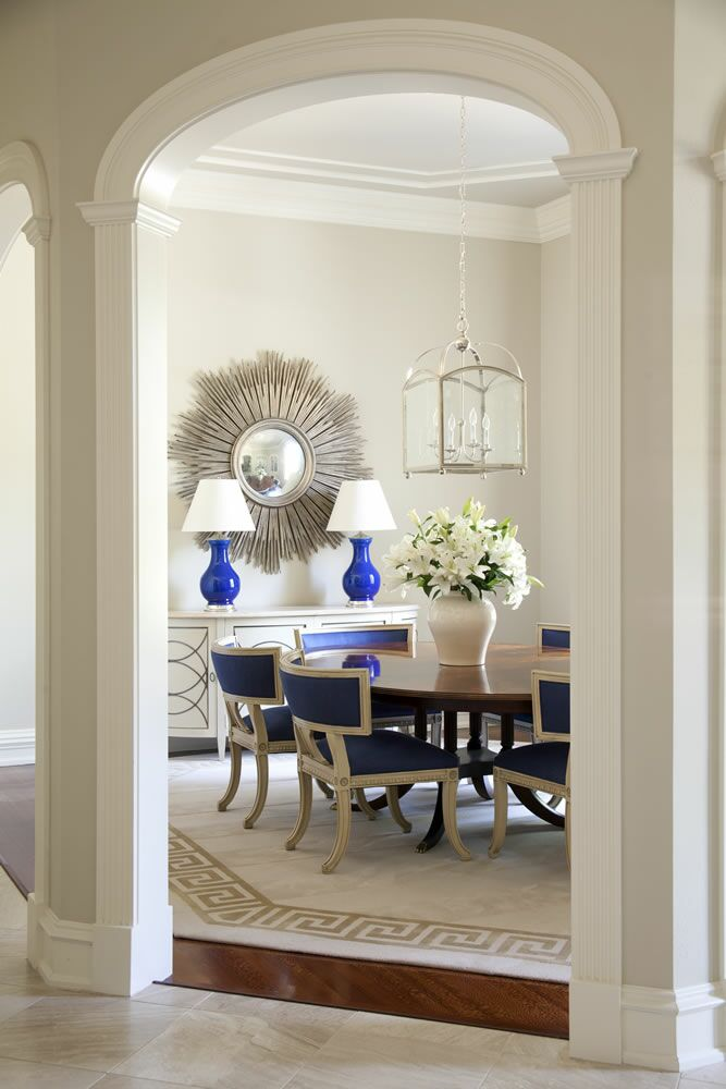 Greige Dining Room Walls