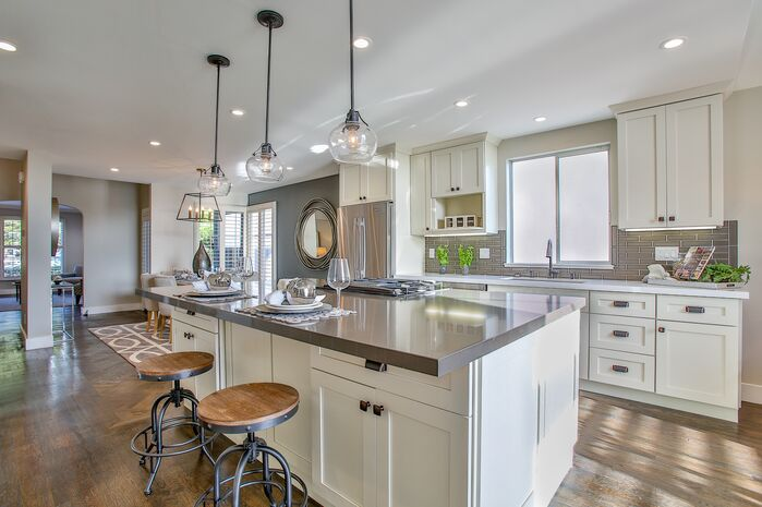 Eclectic Kitchen photo by Tara Baker Design