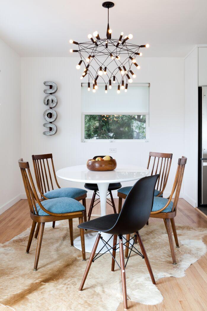 Modern Dining Room photo by Veneer Designs
