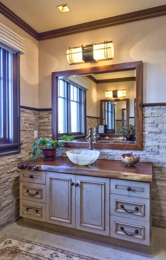 Rustic Bathroom photo by ACM Design