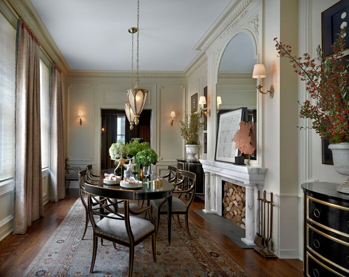 Traditional Dining Room photo by Jessica Lagrange Interiors