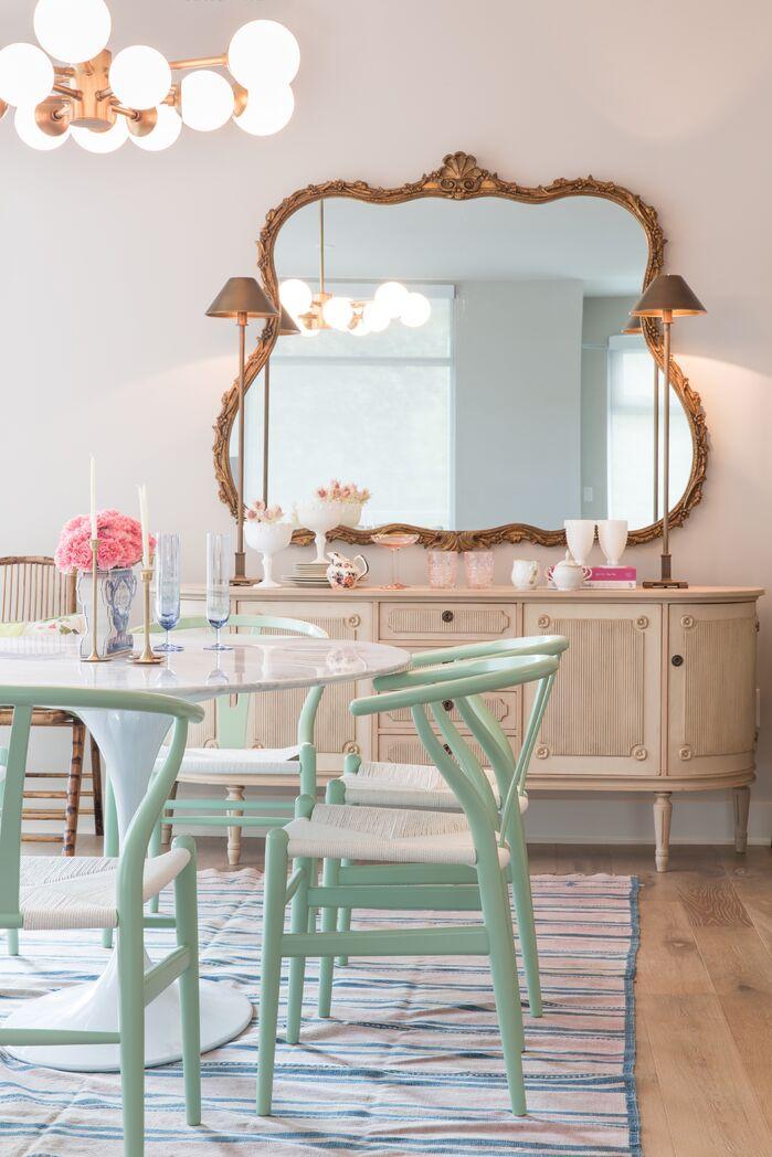 Dining Room photo by Maureen Stevens Design