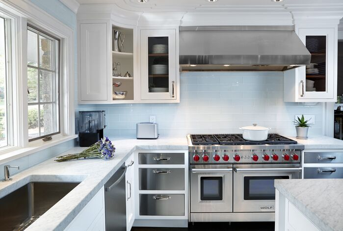 Contemporary Kitchen photo by Lori Fleishhacker Designs