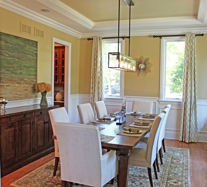 Traditional Dining Room photo by Chad Esslinger Design