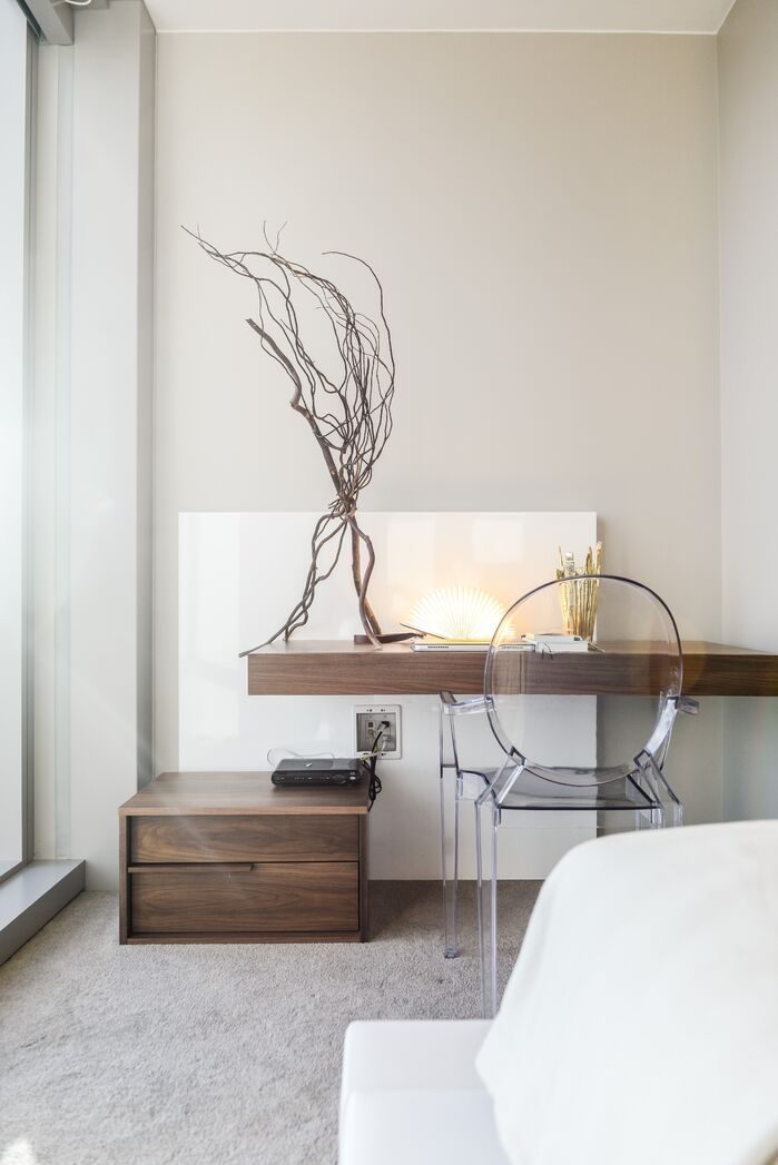 Contemporary Bedroom photo by MCYIA Interiors Architecture and Design