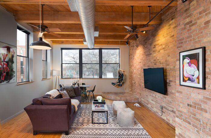 Eclectic Living Room photo by JERRICA ZARIC INTERIOR DESIGN, LLC