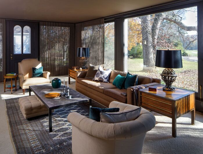 Eclectic Living Room photo by RJA Design