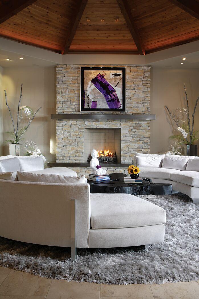 Modern Living Room photo by Chimera Interior Design