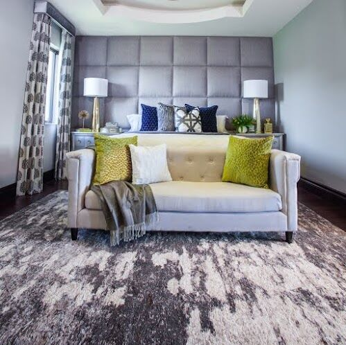 Contemporary Bedroom photo by Nicole White Designs Interiors