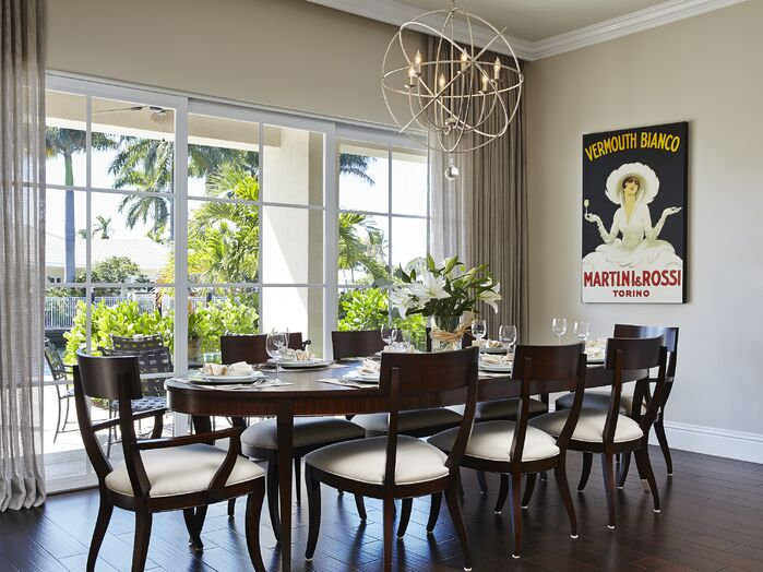 Contemporary Dining Room photo by Expressive Designs, Inc.