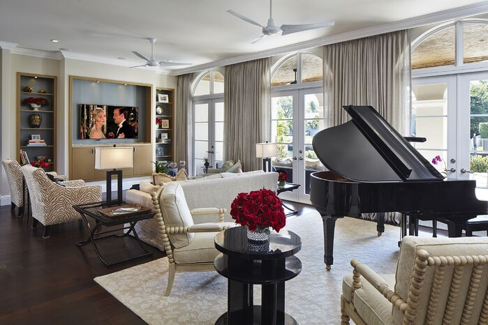 Contemporary Living Room photo by Expressive Designs, Inc.