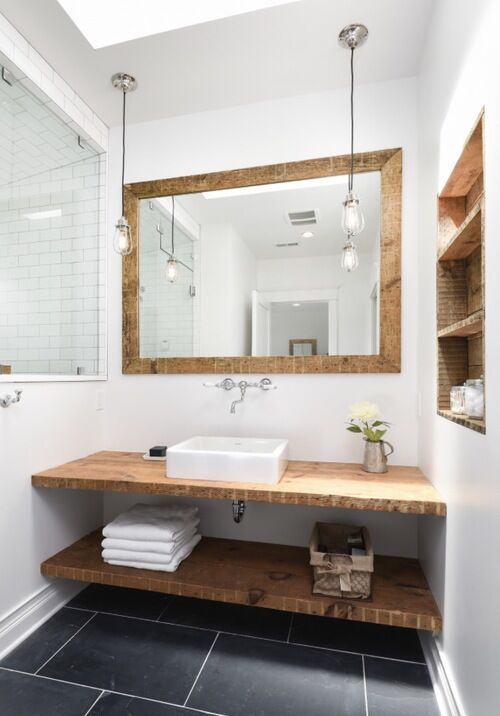 Modern Bathroom photo by Linc Thelen Design