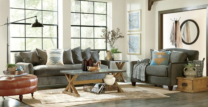 Contemporary Living Room photo by Birch Lane