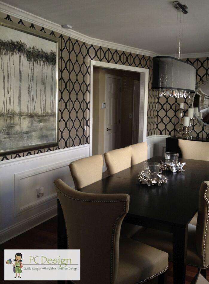 Modern Dining Room photo by Castellini Interior Design