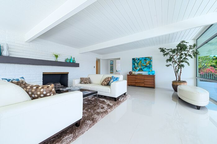 Contemporary Living Room photo by H3K Design