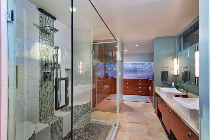 Contemporary Bathroom photo by Elle Interiors AZ