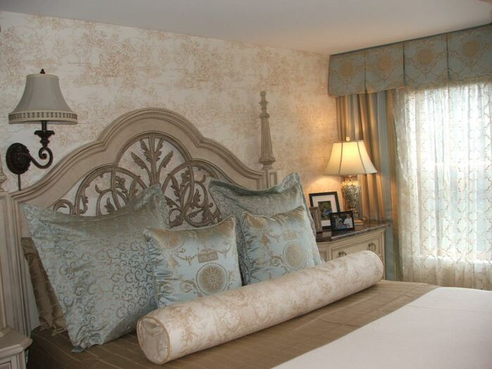 Cottage/Country Bedroom photo by Interiors by Paul Chaisson
