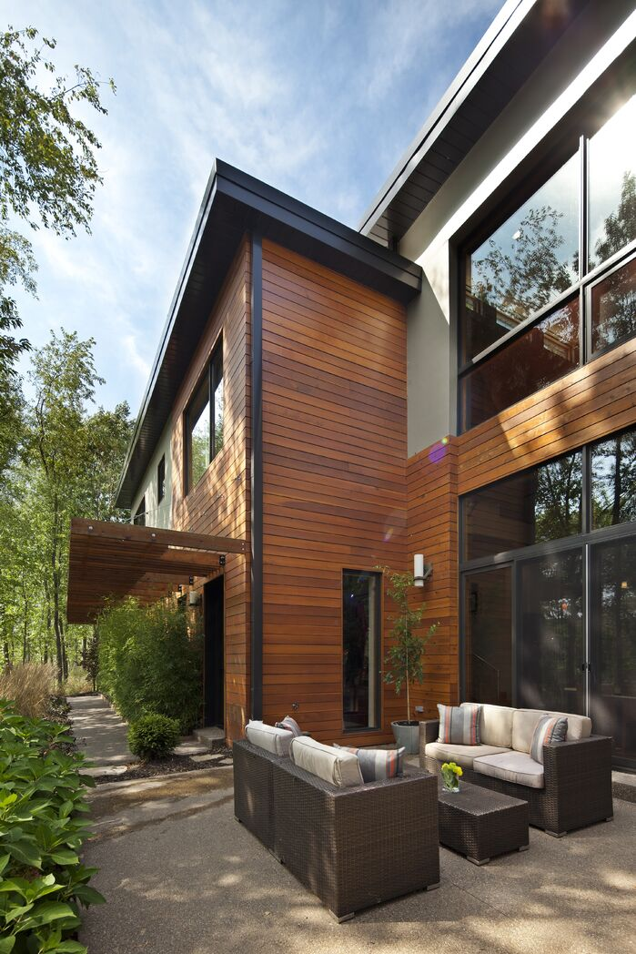 Modern Exterior/Patio photo by Luca Construction and Design
