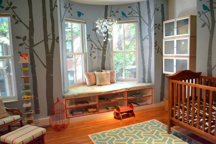 Eclectic Nursery photo by colorTHEORY Boston