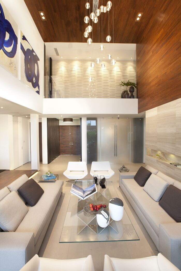 Modern Living Room photo by DKOR Interiors